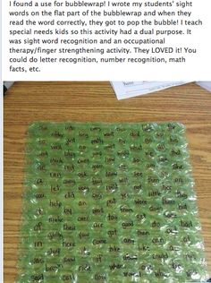 Here's another use for #bubblewrap outside of #packing!