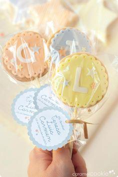 Caramel Cookie | Detalles para un bautizo especial