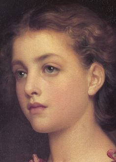 Frederic Leighton (English, 1830-1896). Biondina Leighton (detail), 1879. Hamburger Kunsthalle, Germany