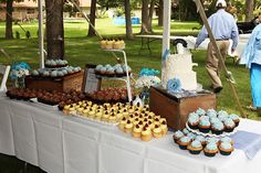 More of cake table