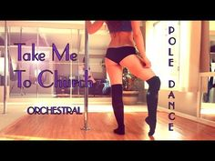 Take Me To Church : Orchestral Pole Dance Warmup Freestyle - YouTube