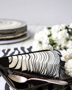 """Maisons du Monde on Instagram: """"How cool does this zebra inspired cake look? Picture from @kinuskikissa. #cake #zebra #inspiration #yummy #baking #bakery #food #instafood…"""" Bakery, Decoration, Rings For Men, Cheese Cakes, Cooking, Architecture Design, Recipes, Inspiration, Instagram"""