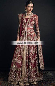 Zara Shahjahan Wedding Dresses Philadelphia Pennsylvannia PA USA Wedding Lehenga D6301 Bridal Wear