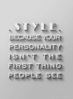 Aye, fashion fades but style remains....