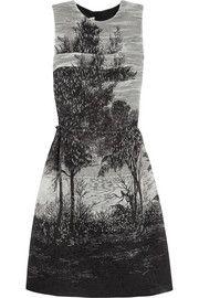 MarniTreescape printed jacquard dress