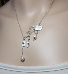 Mommy necklace, add birthstones for each kid. She is amazing to work with!lookingforpandora on Etsy, $34.99