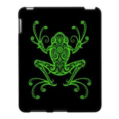 Tree Frog Tattoos | Tribal Tree Frog Tattoo Designs