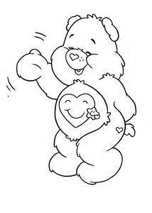 Resultado de imagen de Care Bears Coloring Pages