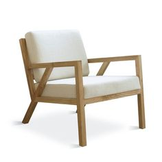 $950Gus Modern Truss Arm Chair from | AllModern I call this coastal contemporary