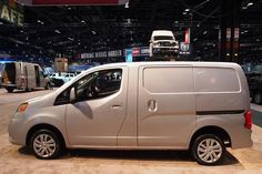 front-wheel drive 2013 Nissan NV200: Chicago Auto Show - AutoTrader.com