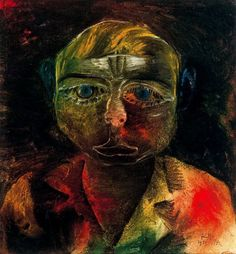 "Paul Klee(1879-1940) - ""Young Proletarian"" (1916)"