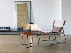 Relax in a cozy environment with the Walter Knoll EOOS Cuoio Lounge