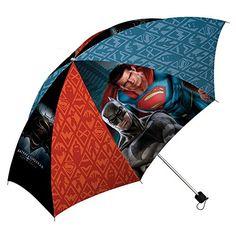 """DC Batman Vs Superman 16"""" Paraguas, Multicolor - http://comprarparaguas.com/baratos/dc/superman/dc-batman-vs-superman-16-paraguas-multicolor/"""