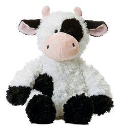12 Aurora Plush Black and White Cow Tubbie Wubbie Stuffed Animal Toy New | eBay