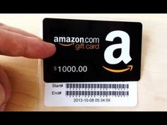 Amazon Gift Card Codes How To Get Youtube