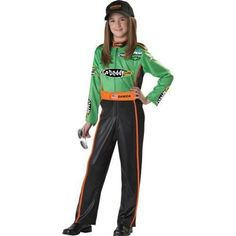 NASCAR Danica Patrick Children's Halloween Costume - $44.95-LEAH  This needs to be in adult size