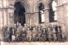 This photo was taken during the 1932 meeting of the members of the Newspaper Press Union which also took place in Grahamstown. The establishment of a central advertising office was again on the agenda, but this idea only materialised 18 years later, in 1950 when Capro was established. Newspaper, Cool Photos, Advertising, Ceiling Lights, History, Places, Historia, Journaling File System, Outdoor Ceiling Lights
