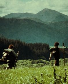 Frodo and Sam. I promised I wouldn't lose you Mr Frodo, and I don't mean to. I don't mean to