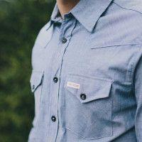 Topo Chambray Shirt | Cool Material