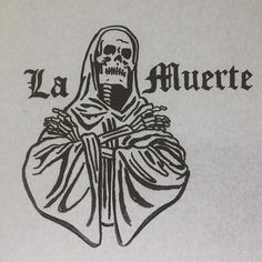 La Muerte 🏴 #criminal #latino #gangster  #muerte #death #goatkeeper