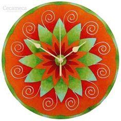 faliórák | cecameca.hu - Part 6 Clock Display, Clock Decor, Cute Clock, Clock For Kids, Mandala, Nursery, Christmas Tree, Holiday Decor, Watches