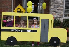 "school bus, although I'm not sure I'd have called it ""no. 2."""