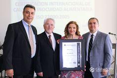 Felicitaciones a RAFF S.A DE C.V por obtener su certificación Internacional de Calidad e Inocuidad Alimentaria ISO 22000:2005, sabemos que este logro ha sido el resultado de un gran trabajo en equipo y dedicación.