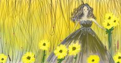 Sunflowers   _ . . . _  #flowers #blooms #sunflowers # #steampunk #illustration #art #drawing #painting #procreateapp #wanderlust #fashion #fashionista #fashionart #fashiondrawing #fashionillustration