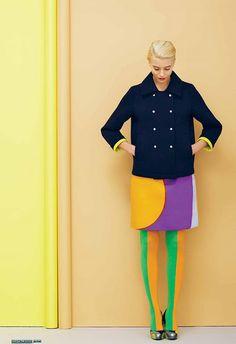 love this coat - Marimekko´s Spring 2013 Fashion Gallery, Fashion Art, High Fashion, Womens Fashion, Fashion Design, Marimekko Dress, Spring Look, Fru Fru, Mode Editorials