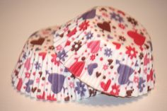 24 Heart Cupcake Liners Valentines Day Cupcake by LuxePartySupply