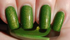 Lightning Lime Nail Polish 15ml .5oz by ModLacquer on Etsy, $9.50