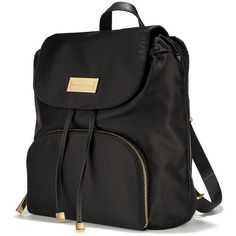 Victoria's Secret Everyday Backpack (120 BRL) ❤ liked on Polyvore featuring bags, backpacks, black, victoria's secret, victoria secret backpack, victoria secret bag, day pack backpack and knapsack bag