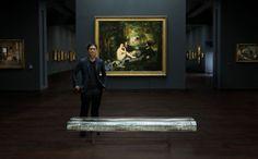 WATER BLOCK par Tokujin Yoshioka invité en 2002 à placer son banc au Musée d'Orsay