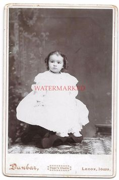 ID'd Adelia Cornell Dated Victorian Cabinet Card Photo of Girl Photg Dunbar Iowa | Collectibles, Photographic Images, Vintage & Antique (Pre-1940) | eBay!