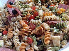 Glitterful Felt Stories: Ultimate Pasta Salad Recipe