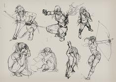 Tomb Raider Sketches by Izaskun.deviantart.com on @deviantART