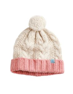 5c0d3eba8f1 Joules null Mable Cable Bobble Hat