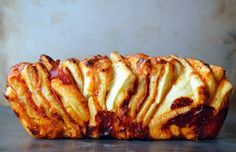 Just a Taste | Pepperoni Pizza Pull-Apart Bread | http://www.justataste.com