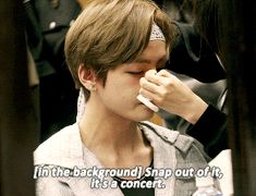 :(. Taehyung V Crying