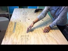 DIY Tufted Headboard - YouTube