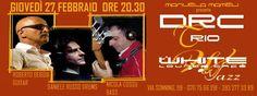 DRC TRIO LIVE – WHITE CAFE' – CAGLIARI – GIOVEDI 27 FEBBRAIO 2014
