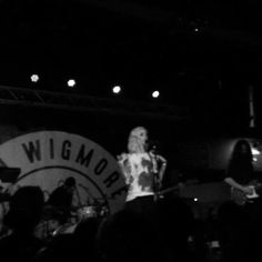 WIlling To Die Tour, Gin Wigmore & Matthew Santos performed on Saturday at Brighton Music Hall