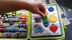 Hand crafted baby quiet book -for Christian - Made by Darina Scepkova......... Rucne robena detska knizka pre Kristiana