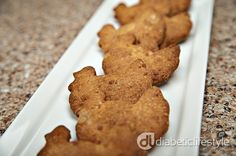 A simple, free diabetic recipe from DiabeticLifestyle:  Parmesan crackers. Great appetizer or snack (especially for children with diabetes).  DiabeticLifestyle has all nutritional and diabetic exchange information, making it easy for people with diabetes to eat well and manage their blood glucose levels.