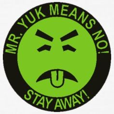 Mr. Yuk sticker