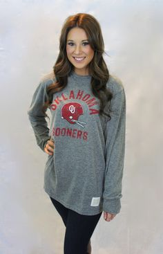 Oklahoma Sooners Long Sleeve T-Shirt