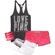 I would probably do flip flips instead of the shoes, but this is so cute, I love VS!! :)