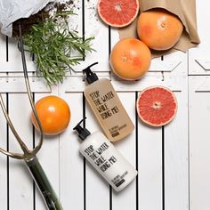 In the name of our Shampoo and Conditioner – thank you nature for rosemary and grapefruits!