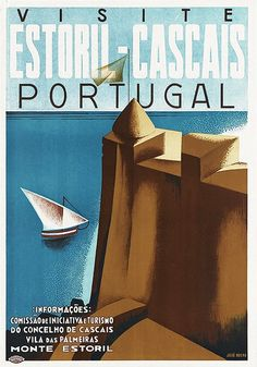 25x Vintage Travel Posters Portugal | The Travel Tester