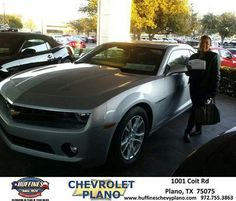 #HappyAnniversary to Brenda Wooten on your 2014 #Chevrolet #Camaro from Eric Stovall at Huffines Chevrolet Plano!